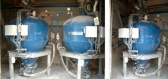 Instalacja dozowania sorbentu
