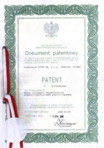 PATENT Układ sterowania pneumatycznymi elektrorozdzielaczami pięciodrogowymi.