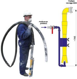 Ręczne Górnicze Urządzenie Pyłowe